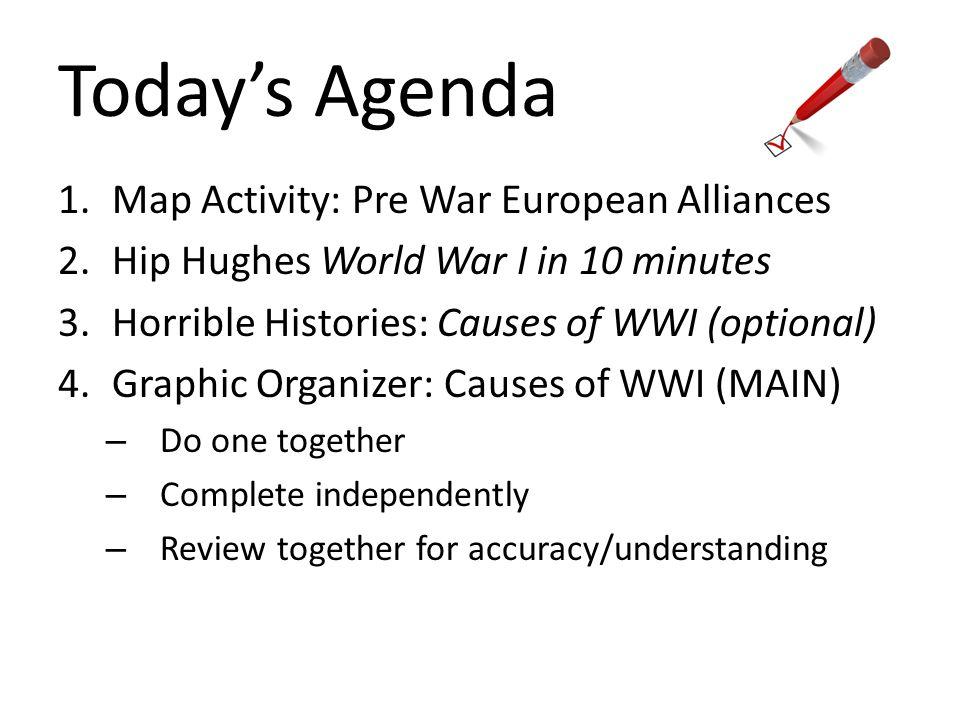 US History Bellwork Write SPI Ppt Video Online Download - World war 1 map activity us history