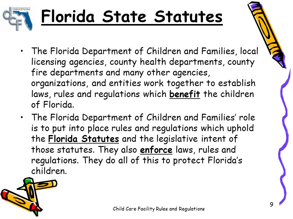 Florida laws dating minors