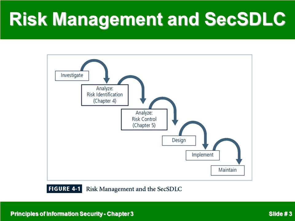 the development of security and risk management in a company To manage risk to a business or government agency, security program management needs to evolve continually gaps can emerge and undermine the program's effectiveness.