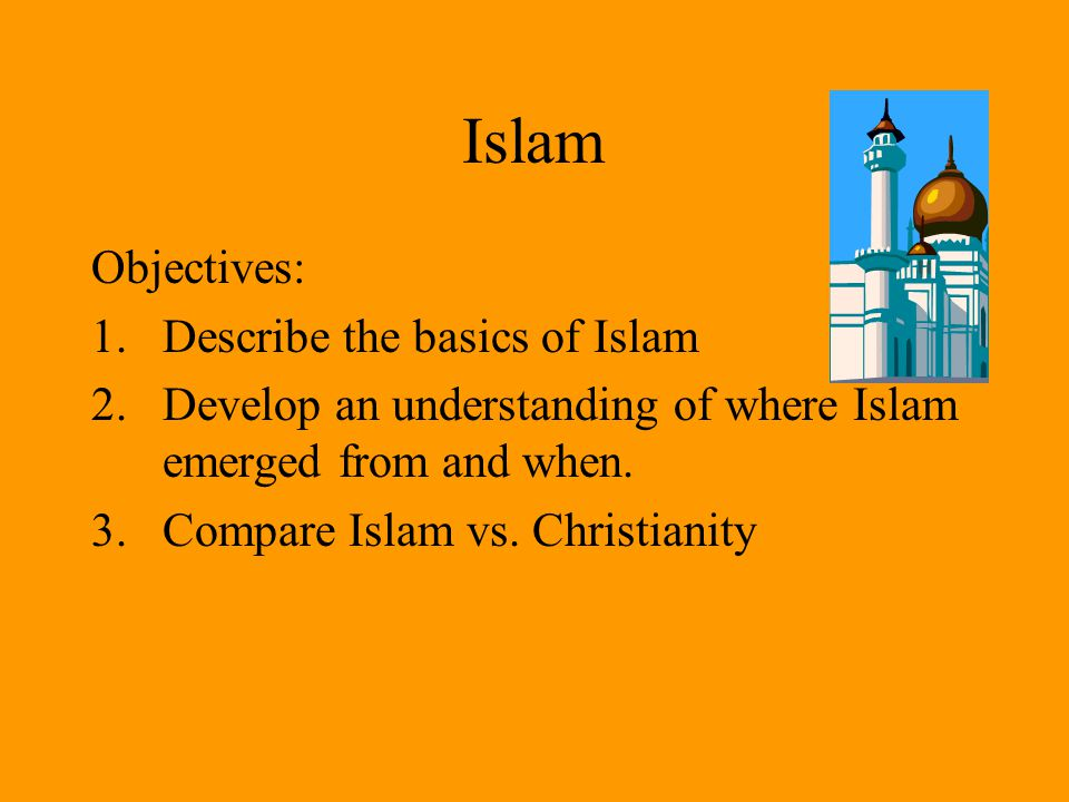 an opinion that islam is derived from christianity Free conclusion between islam and christianity there were a variety of opinions which tried the start of islam is actually derived form christianity.