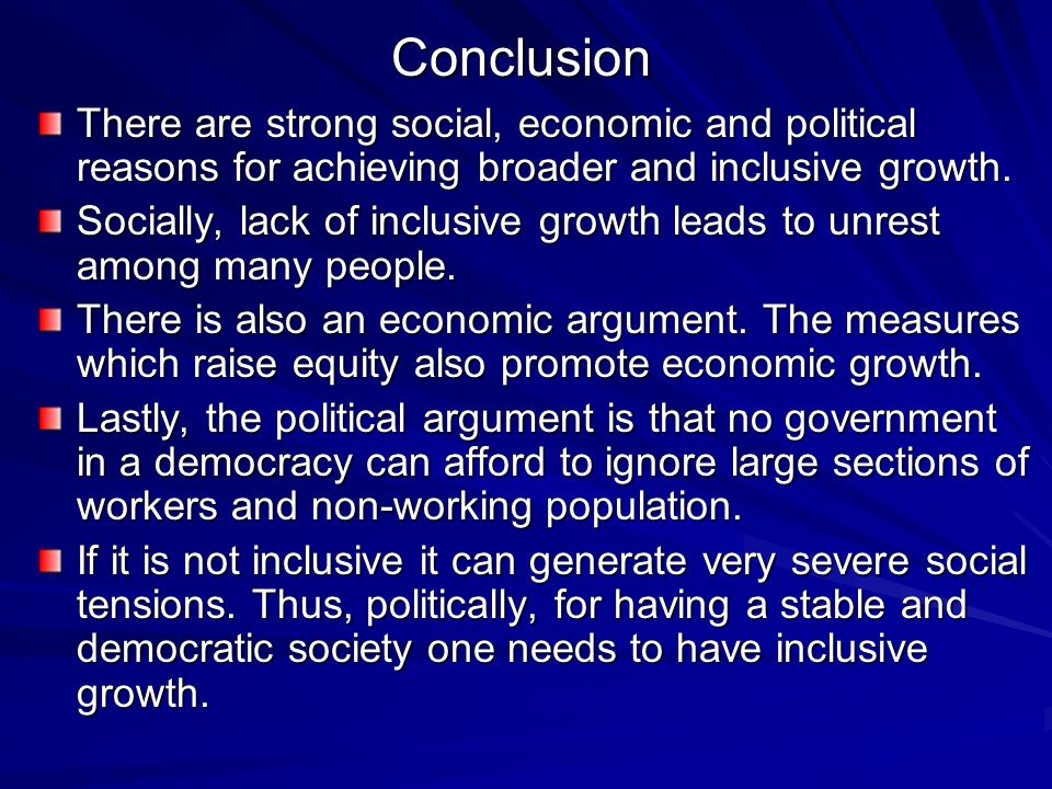 inclusive growth Can economic growth be simultaneously 'smart' and 'inclusive' why is it that  recent periods of innovation-led growth resulted in rising socio-economic.