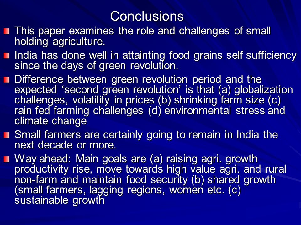 challenges for sustainable agriculture in india Environmental challenges in indian agriculture the challenge for indian agriculture to address the problems, policies have laid emphasis on promoting sustainable agriculture including organic farming government of india (2000), national agriculture policy.