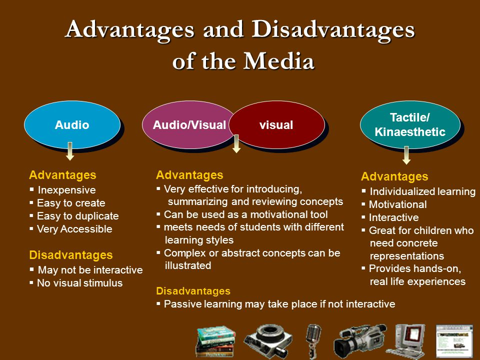 disadvantages of media The advantages and disadvantages of social media marketing social media has fundamentally changed the way businesses interact with customers and the public at large.