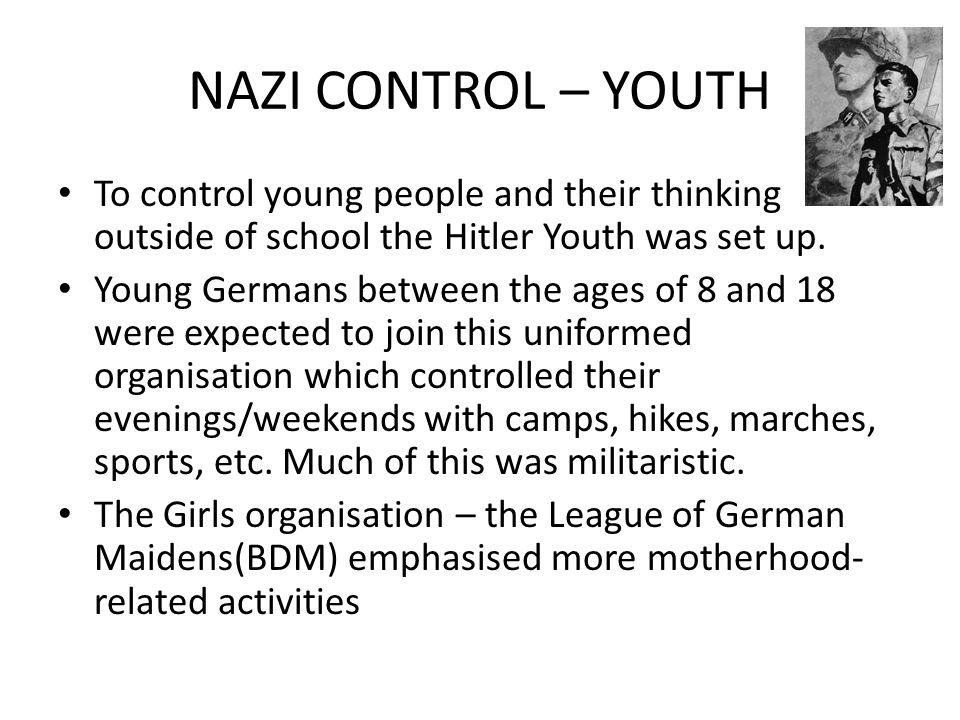 nazi control of youth