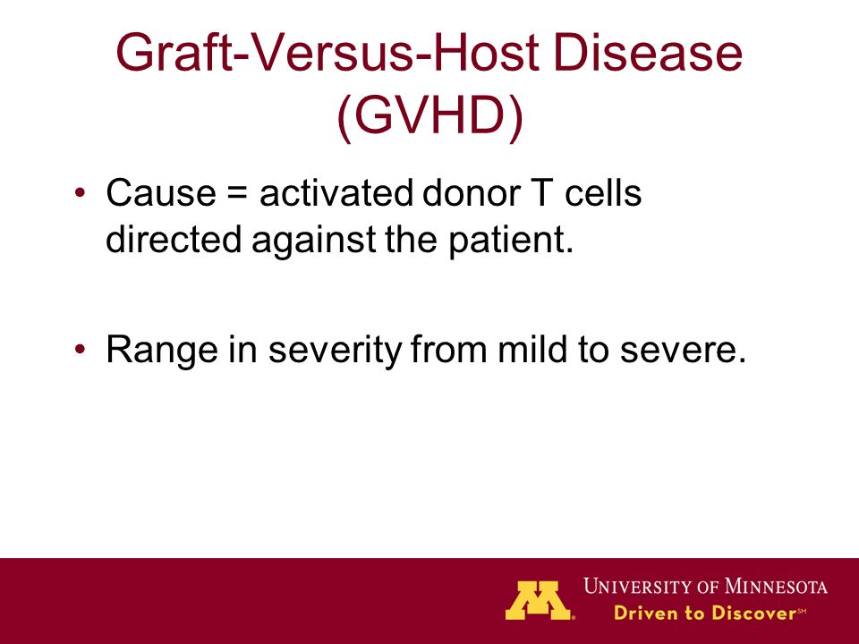 Hematopoietic Stem Cell Transplant - ppt video online download