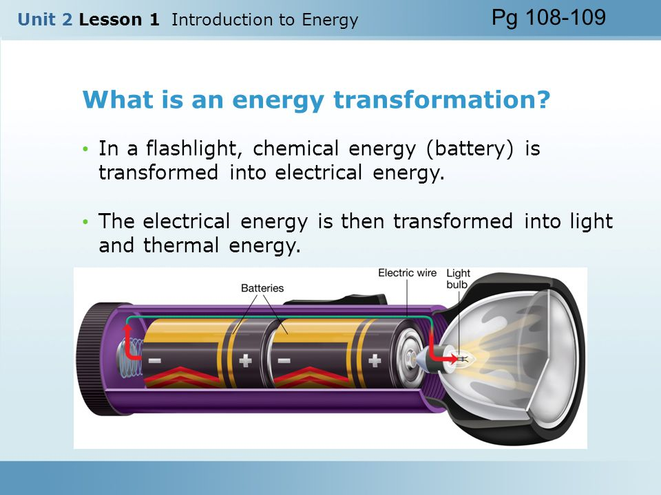 Introduction to Energy Essential Question: What is energy ...