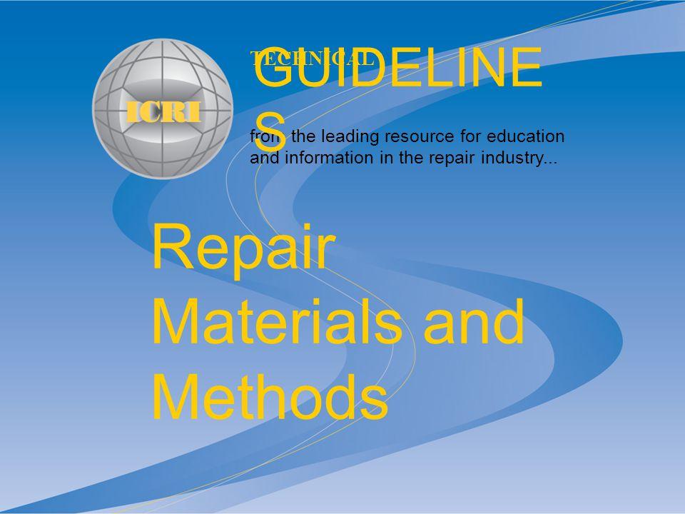 icri technical guideline no 03730 pdf