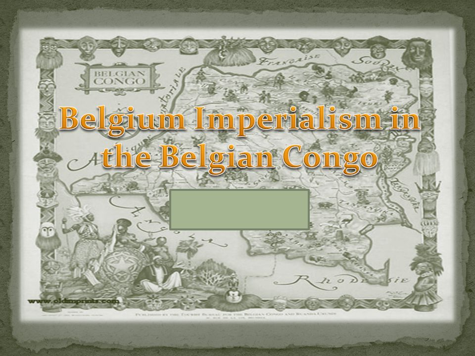 the history of the belgian congo essay