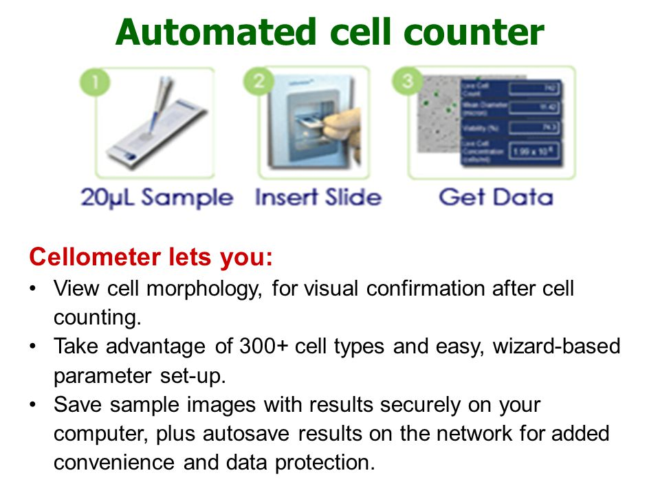 Automated cell counter