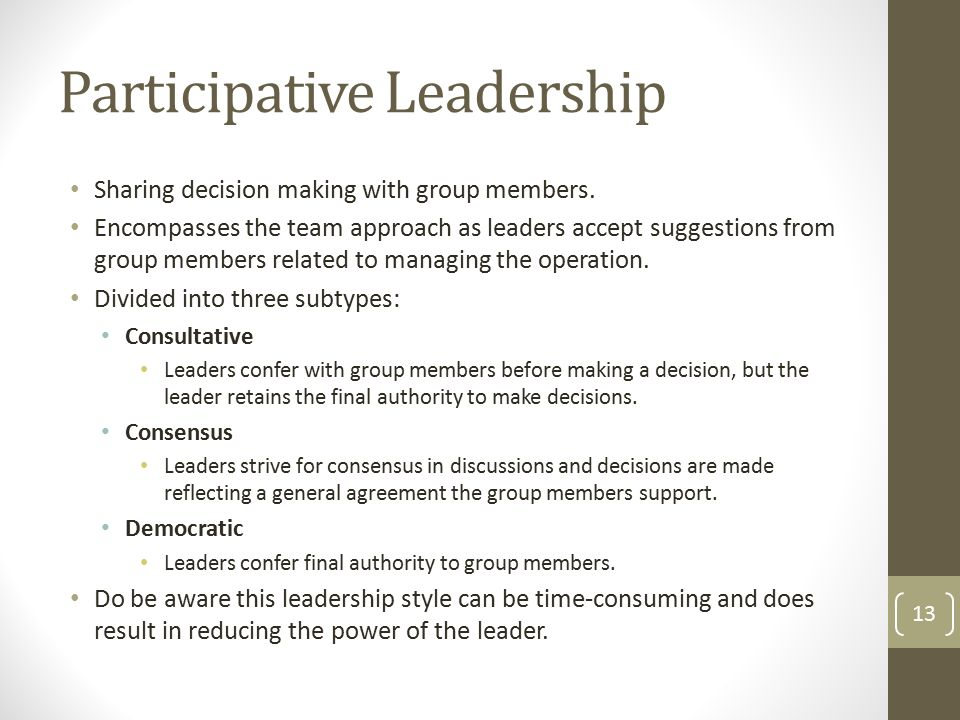 Chapter Four Leadership Behaviors, Attitudes, & Styles ...