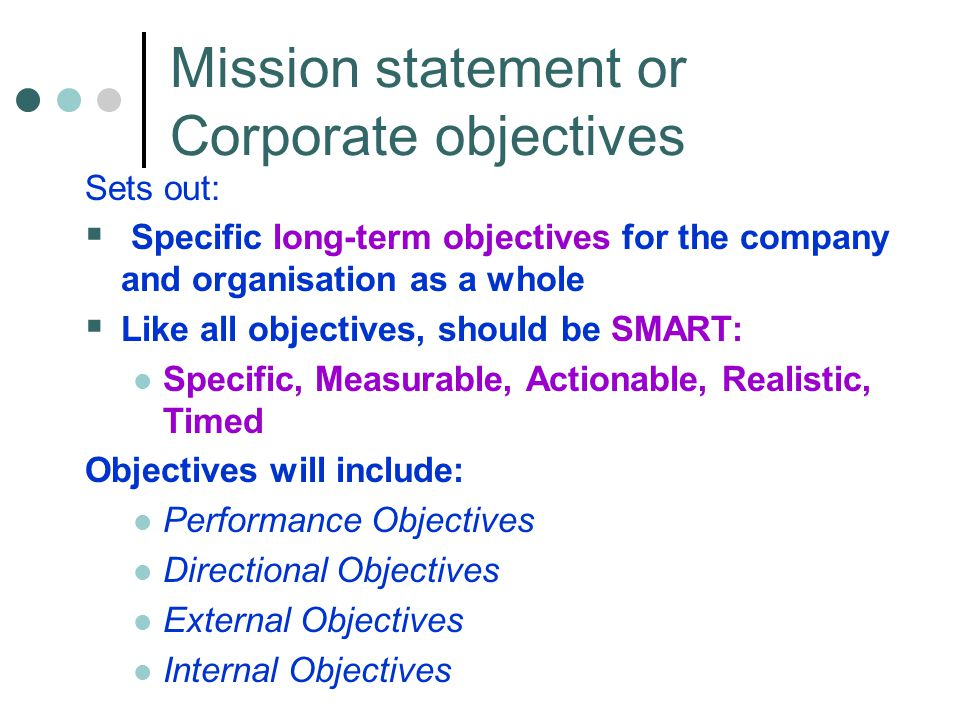 an analysis of the mission statement current situation competition marketing objectives and strategi This statement is a part of dell's: functional objectives short-term strategy mission statement near-term goals the mission statement outlines the organization's fundamental purpose.