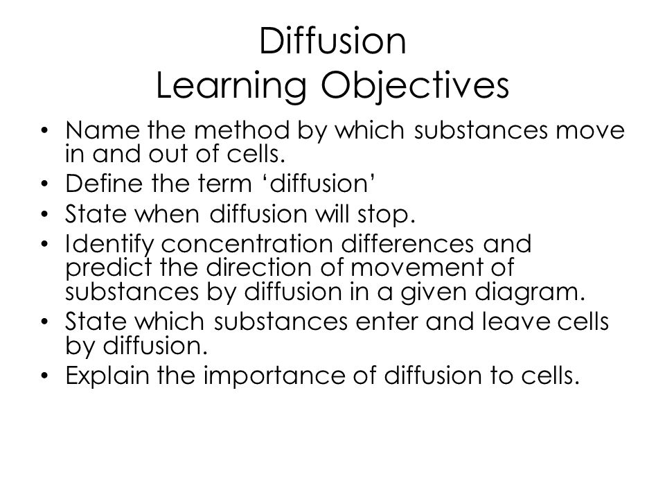 Diffusion and Osmosis in plant and animal cells - ppt video online ...