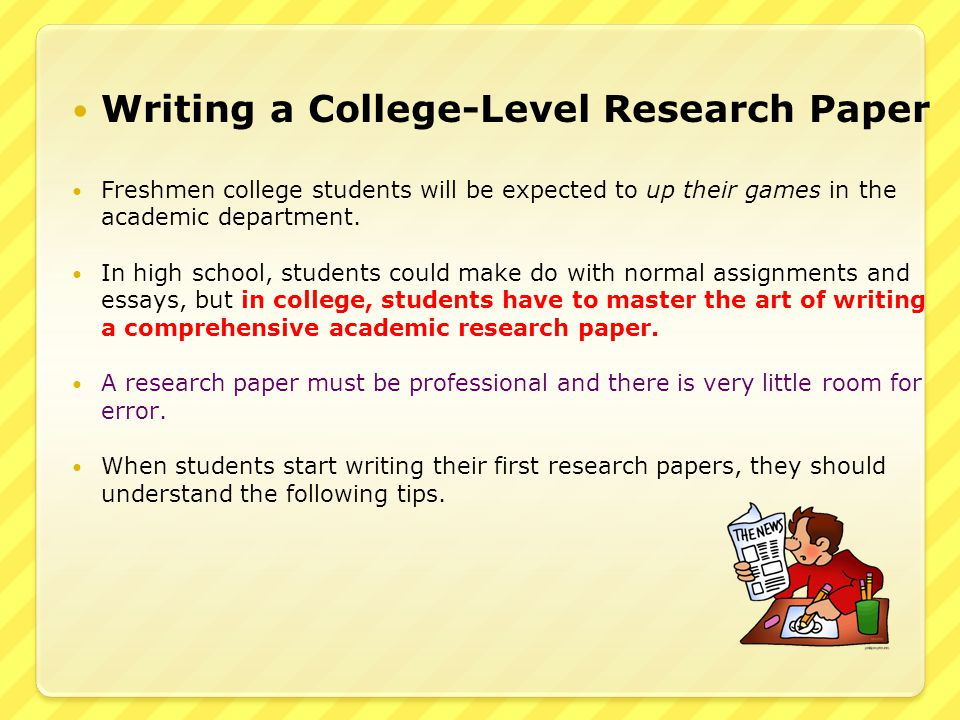 Term paper research service