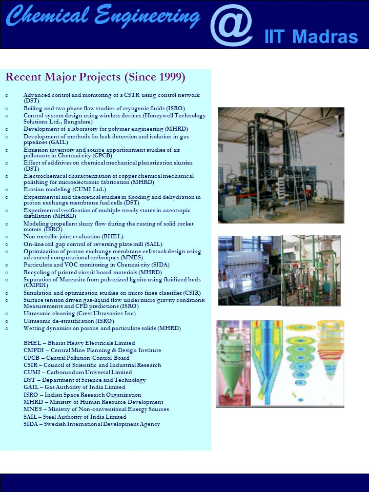 Chemical Engineering Iit Madras Department Of Chemical Engineering Ppt Download