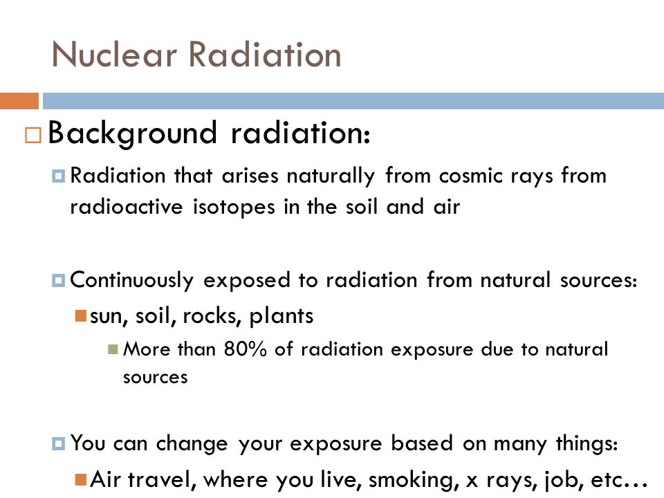 How To Treat Radiation Exposure Naturally