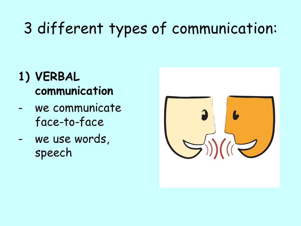 What are the different methods of communication, and which is best for you?