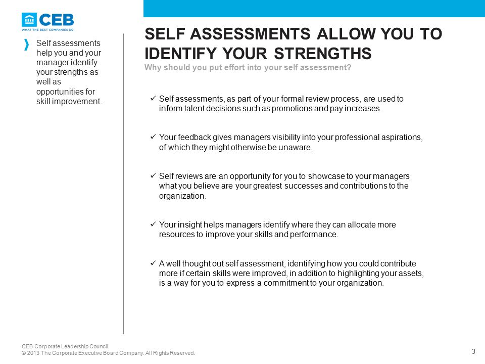 Employee Guide Self Assessing Your Performance  Ppt Video Online
