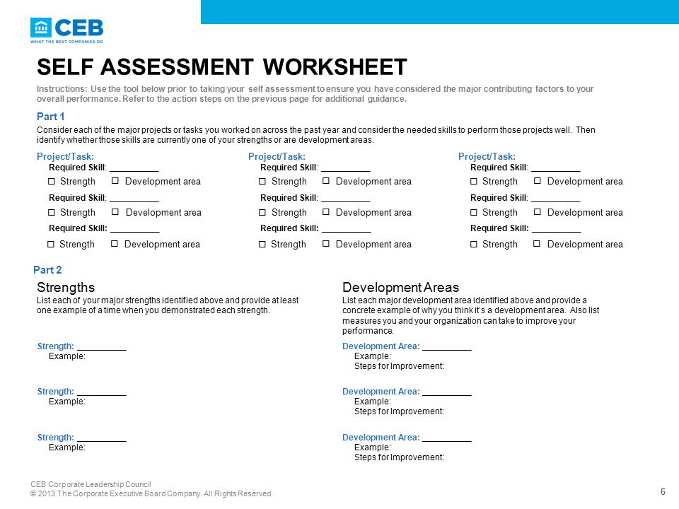 Employee Guide: Self Assessing Your Performance - ppt video online ...