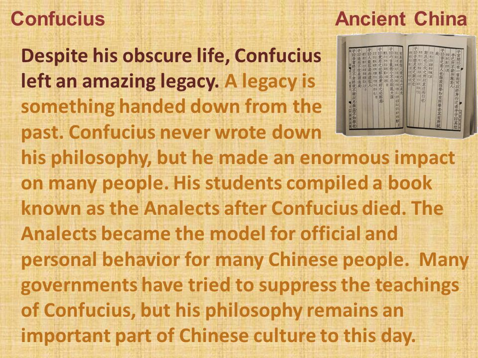 an introduction to the life of confucius a philosopher from china A concise companion to confucius offers a succinct  confucius as philosopher,  literati in medieval china later essays consider confucius's.