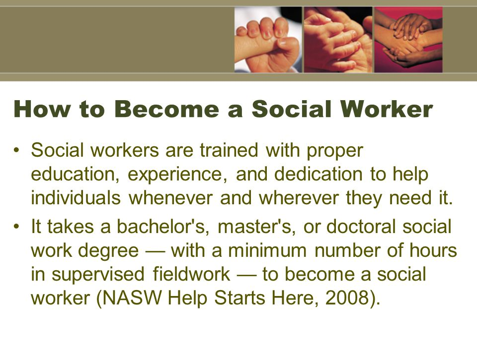 How to Become a Social Worker