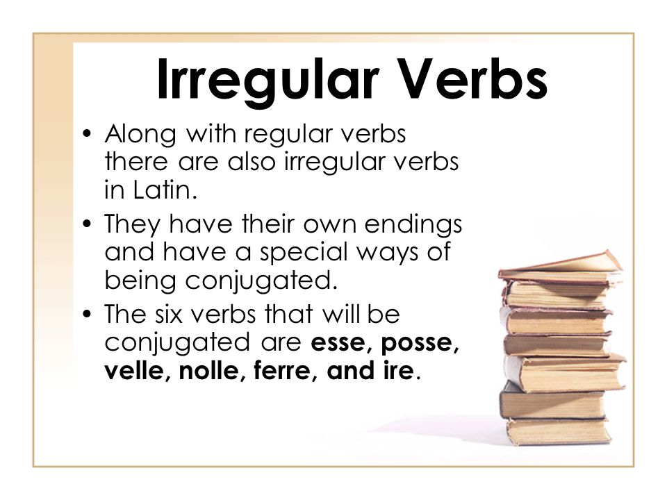 Conjugations of Latin Verbs - ppt download