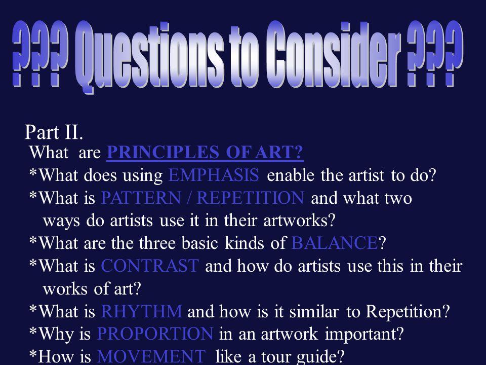 3 Principles Of Art : Principles of design ppt video online download