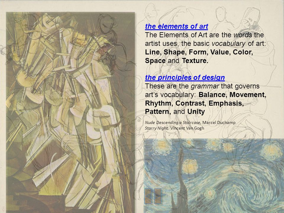 Basic Design Principles In Art : The language of art is a visual u201clanguage u201d practiced in every