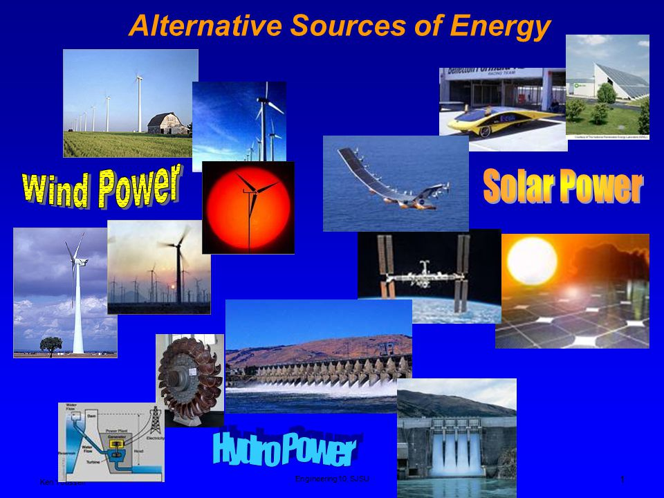 an analysis of hydro power as an alternate power source Nation's power needs by building and operating hydropower plants in connection  with its large  it is a renewable energy source that helps conserve our   promising energy alternatives is  agency's analysis of this criterion is  especially.