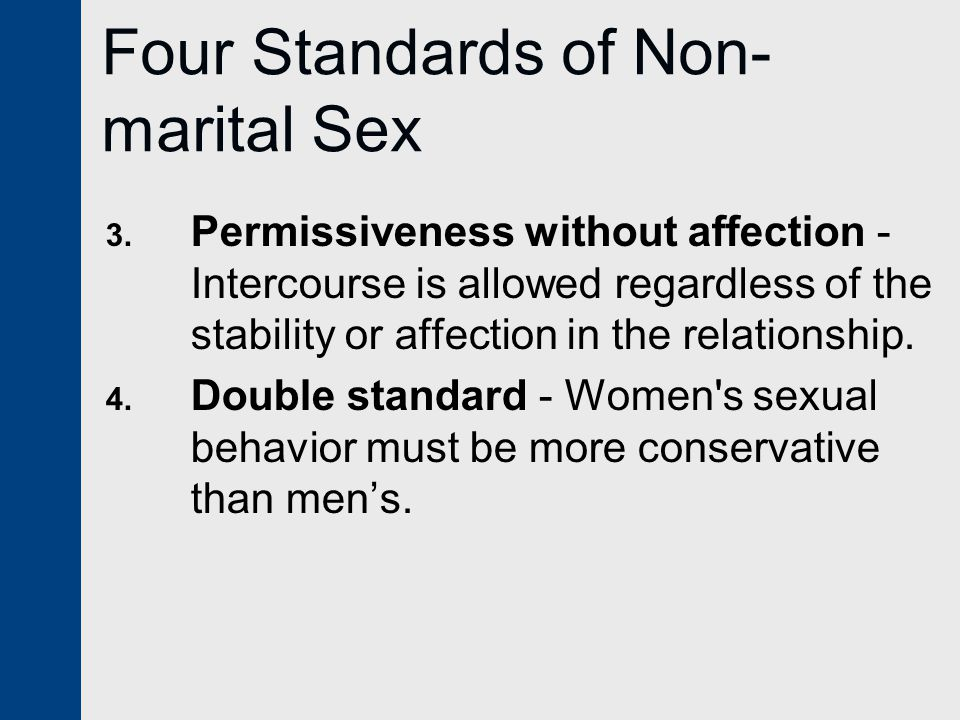 relationship standards and marital satisfaction