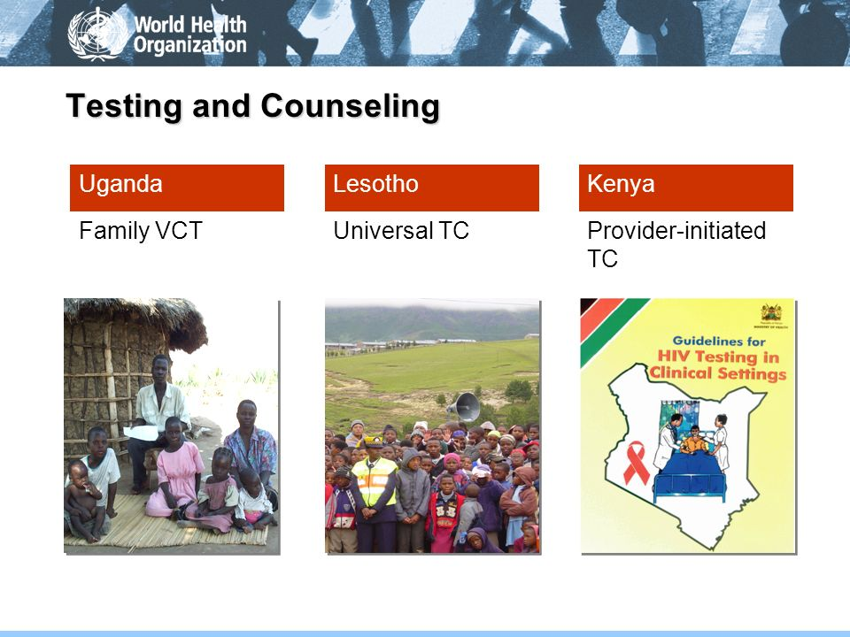 Testing and Counseling