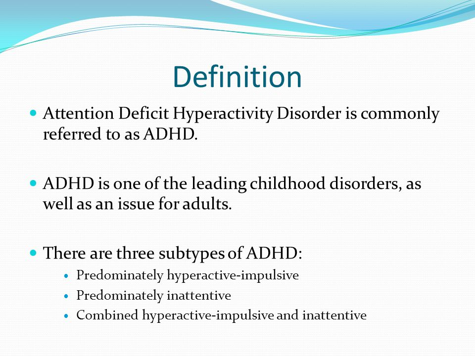a description of attention deficit hyperactivity disorder No description by alyssa mitchel on 19 november 2014 tweet comments (0  transcript of adhd: attention deficit hyperactivity disorder  attention deficit.