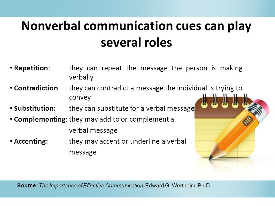 examples of nonverbal communication 1 nonverbal communication examples in the workplace  oral communication examples between team members can include discussions involving a project, discussions involving workplace procedures.