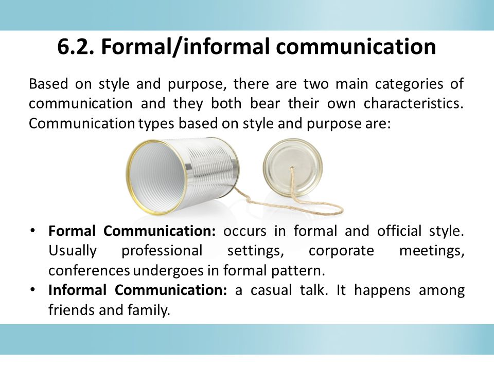 Communication and casual dating