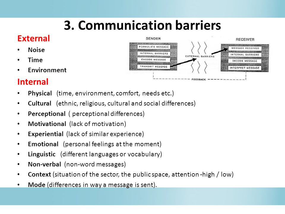 motivational barriers of communication Barriers to team success when plans are inadequate leaders without leadership skills when members have poor attitudes training that doesn't train.