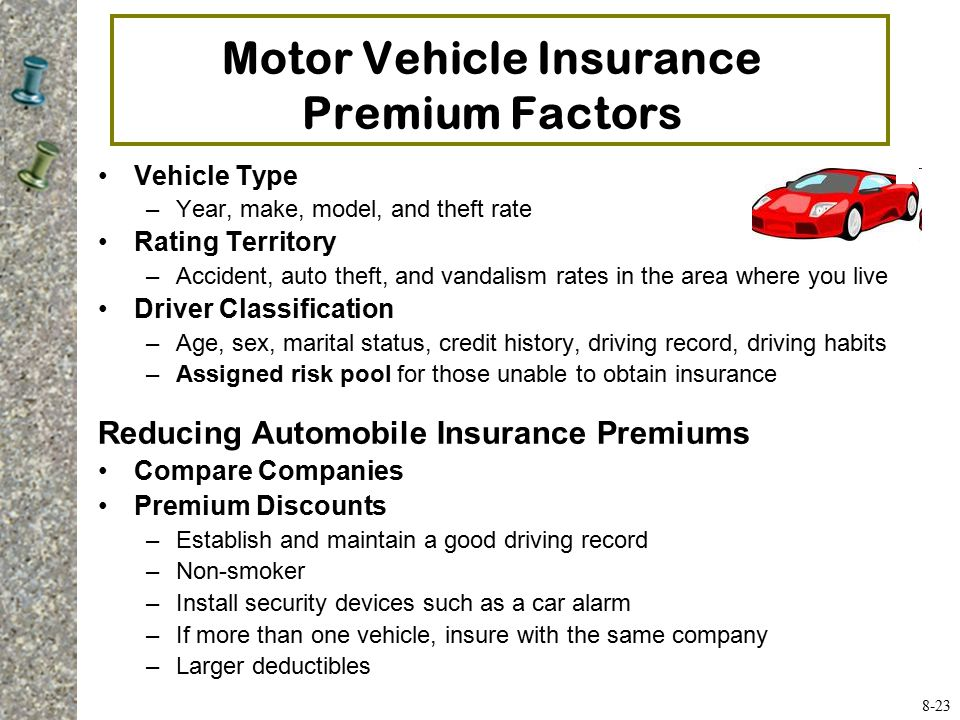 8 home and automobile insurance ppt video online download for Motor vehicle driving record