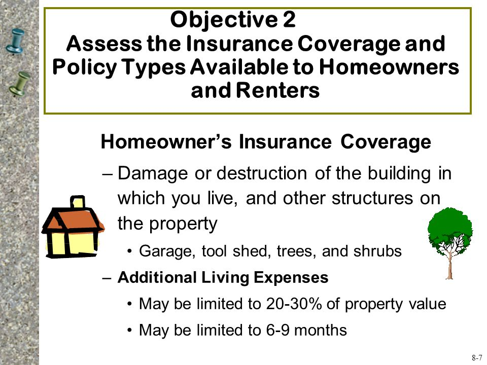 8 home and automobile insurance ppt video online download for Construction types insurance
