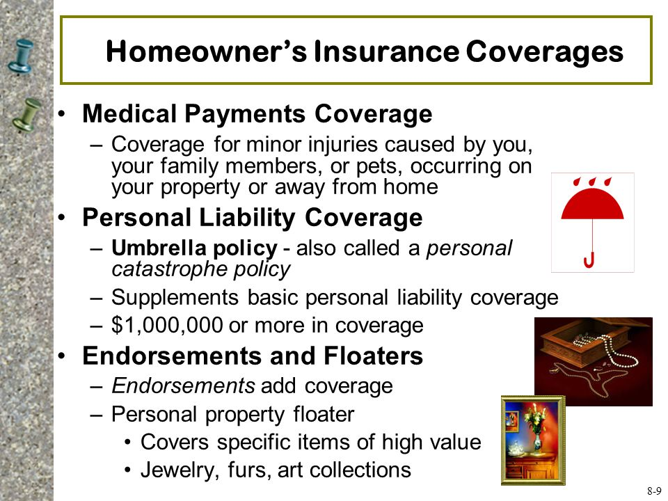 9 Homeowner S Insurance Coverages