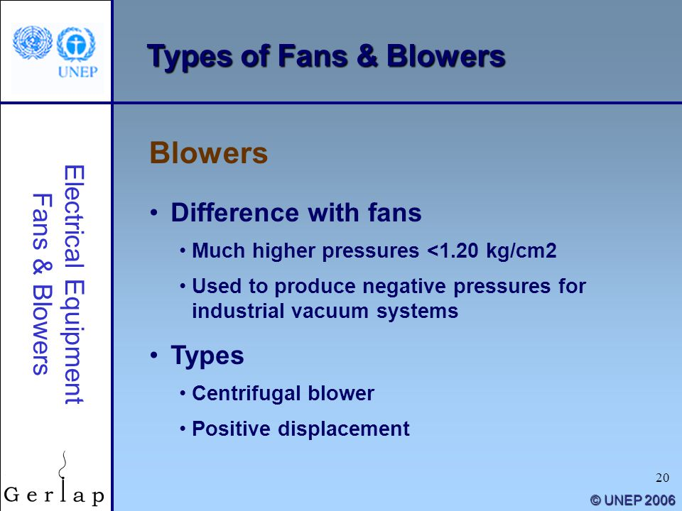 """Types Of Industrial Blowers : """"energy efficiency guide for industry in asia ppt download"""