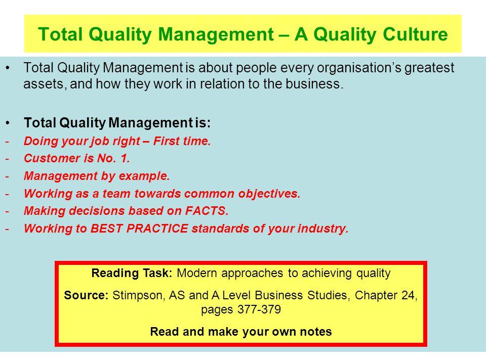 Unit 54 Quality Assurance ppt download