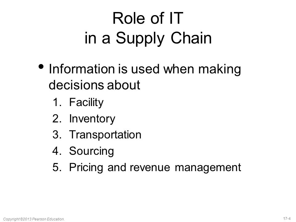 role of it in fmcg supply chain This article covers some best practices and statistics for supply chain and logistics pros the role of logistics in supply chain management globally.
