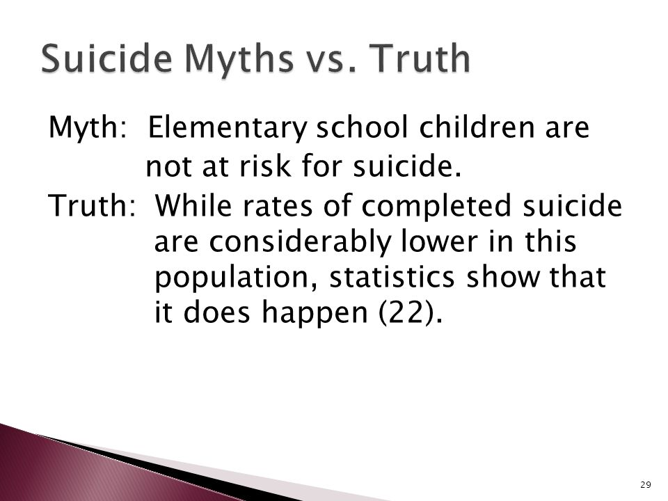 10 Common Misconceptions About Suicide