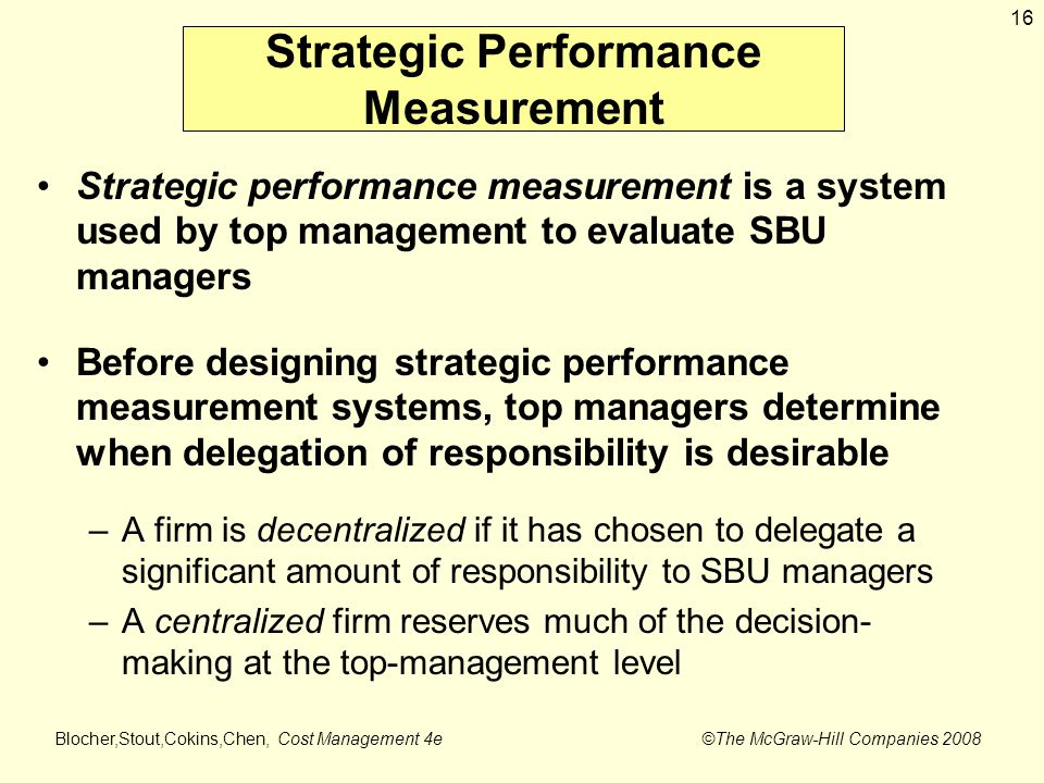 strategic performance measurement Strategic performance measurement - download as word doc (doc), pdf file (pdf), text file (txt) or read online from professor at uwa.
