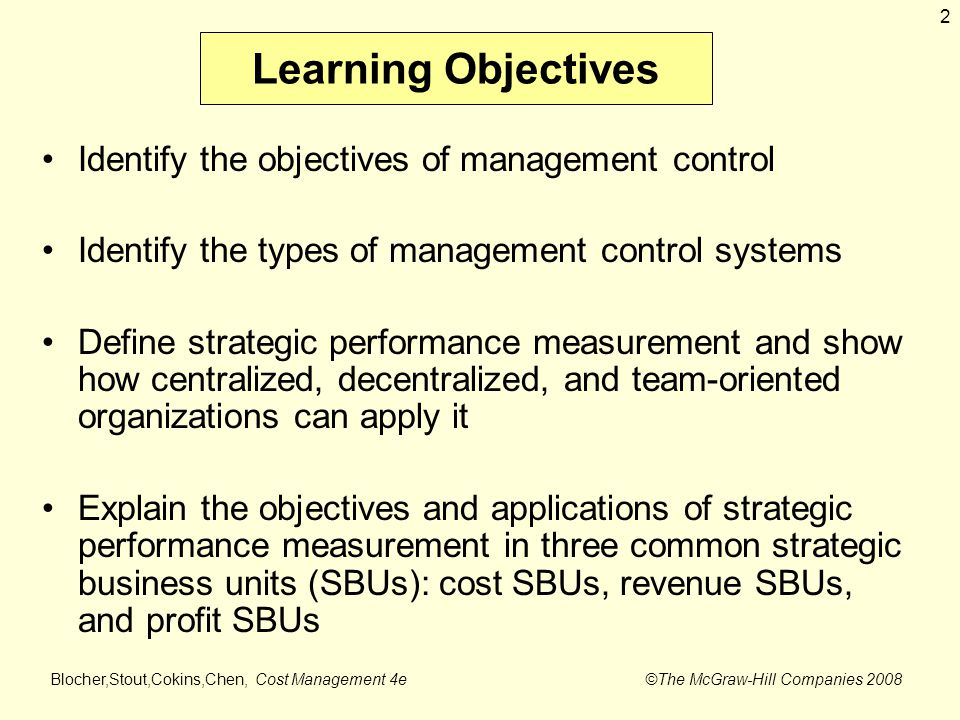 team performance and strategic management objectives The strategic performance management process strategy, performance management, strategic objectives, management support their team members rather than.