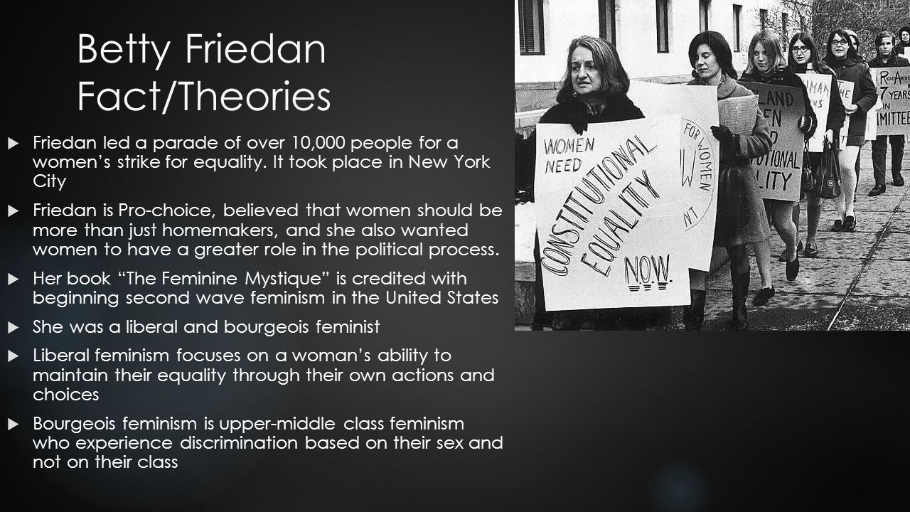 Betty Friedan: A Leader in the Modern Women's Rights Movement