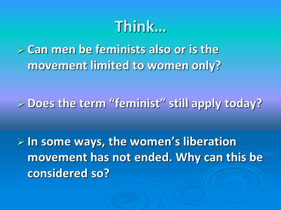 why have some feminists criticised the Some feminists considered pornography, maternity and compulsory heterosexuality as the cornerstones of patriarchal ideology without a doubt, the most interesting development of feminism during the 80s was the move towards a perspective that would unite all forms of violence, abuse and exploitation of women and link them to the.