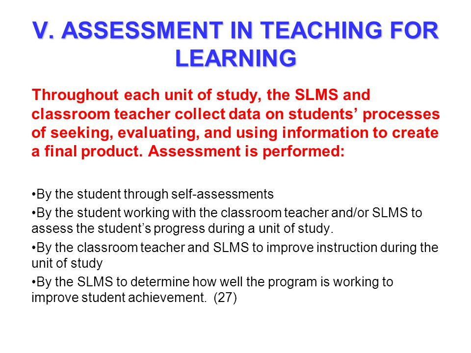 assessment for learning tools pdf