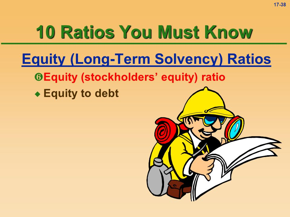 Equity (Long-Term Solvency) Ratios
