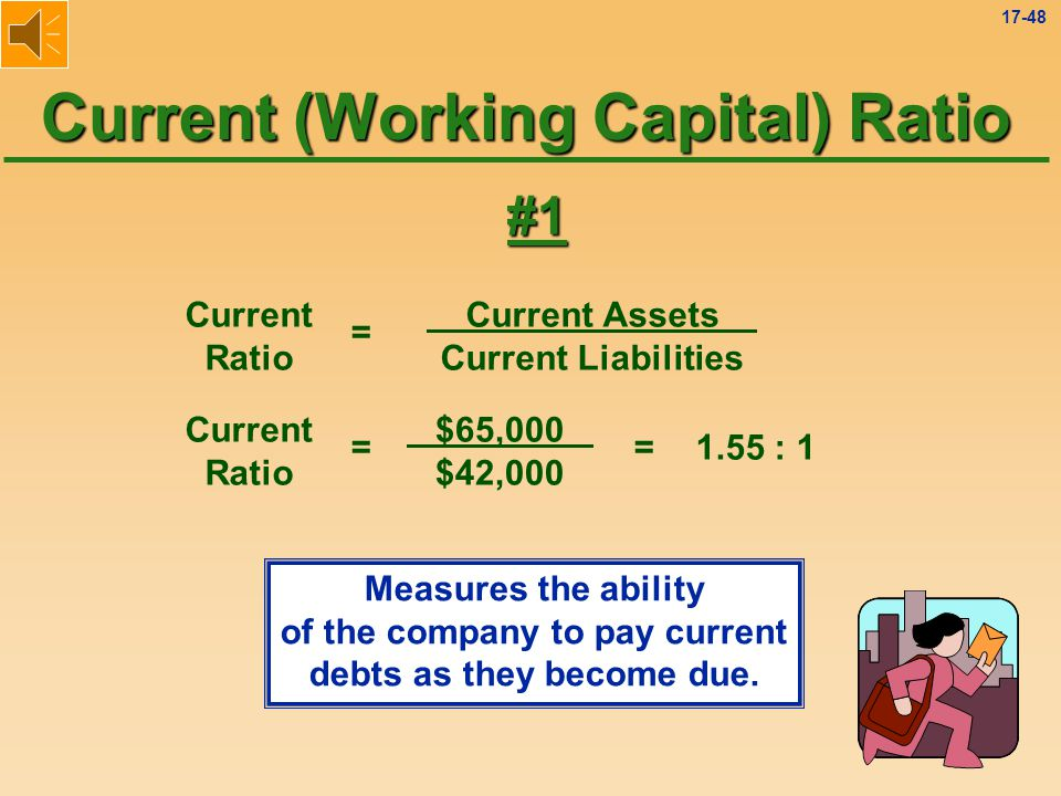 Current (Working Capital) Ratio