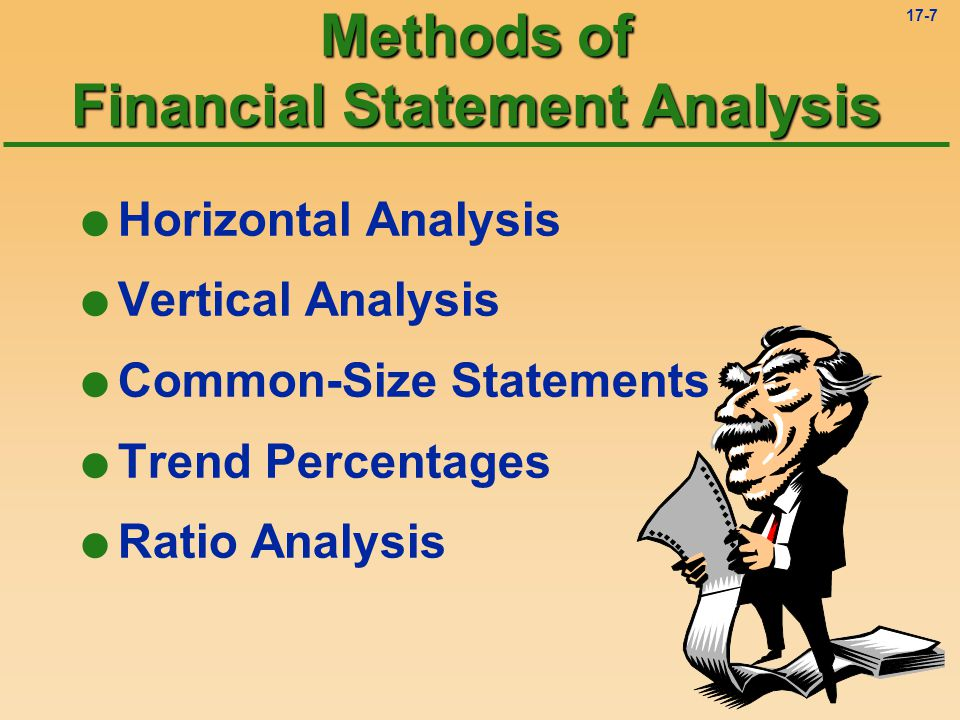 Methods of Financial Statement Analysis