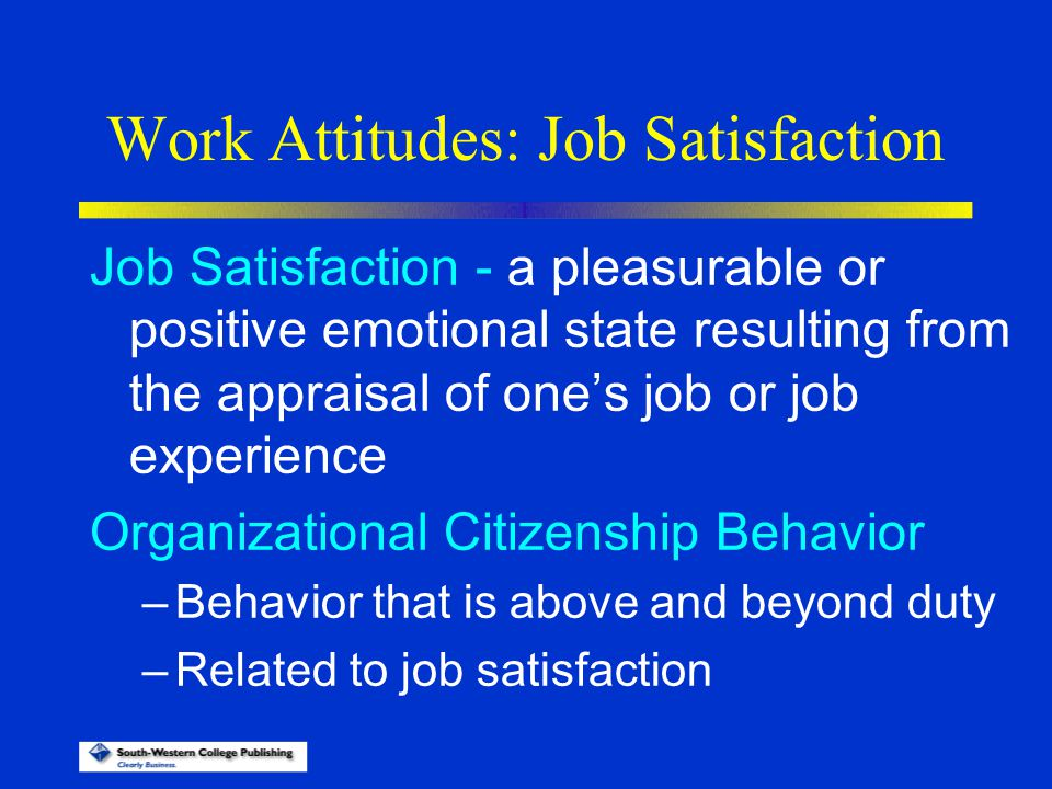 attitude and job satisfaction ppt Chapter 3 values, attitudes, and their effects in the workplace 73 values attitudes job satisfaction engagement.